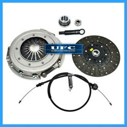 UFC MOTORCRAFT CLUTCH KIT w CABLE 1986-1995 FORD MUSTANG 5.0L MERCURY CAPRI RS