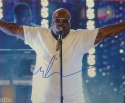 Cee Lo Green Autographed Color 8x10 Photo Signed In Person In Nyc City Winery