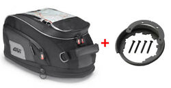 Givi Tanklock Combo Kit - XS319 XStream Mini Tank Bag & BF17 Tank Ring Mount
