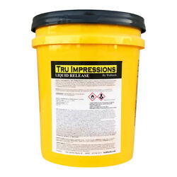 Walttools Liquid Release For Concrete Stamps, Countertop Forms, And Tools 5 Gal