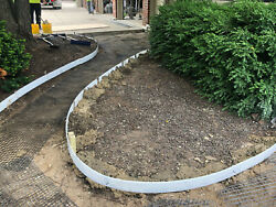 Plastic Flexible Forms For Concrete Flatwork/curbs 4 In X 80 Ft Walttools