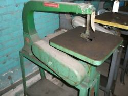 Powermatic 24 Model 95 Woodworking Scroll Saw 14 X 15 Table As-is