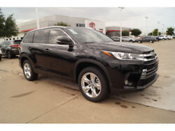 2017 Toyota Highlander Limited 2017 Toyota Highlander Limited 3 Miles Black Limited 4dr SUV  8-Speed Shiftable