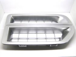 Discovery 3 Side Grille Vent Bright Silver Air Intake Oem Jak000065mmm New