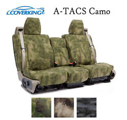 Coverking Custom Seat Covers Ballistic with A TACS Camo Choose Color And Rows $499.98