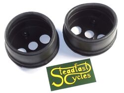 Triumph Rubber Speedo Cup Set Tach Boot Cover Smiths Boots Gage Cups 60-2600