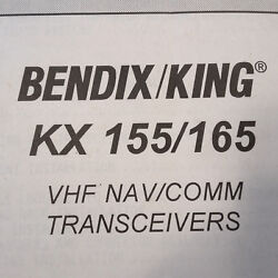 King Kx-155 Kx-165 Install And Operation Manual