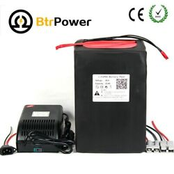 48v 30ah Lithium Lifepo4 Battery Pack Power For 2000w E-bike Scooter+bms+charger