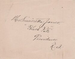 Extremely Rare Autograph Of Sissieretta Jones - African American Opera Singer