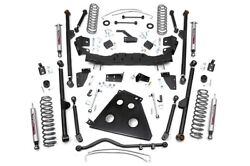 Rough Country Jeep 4-inch X-Series Long Arm Suspension Lift System
