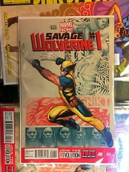 Marvel Now Savage Wolverine Lot 1 2 3 4 5 6 7 8 9 10 And In The Flesh 1 W1