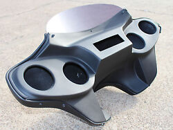 "Harley Detachable FLD Dyna Switchback Fairing 2012 & up 4 x 5"" Speaker F3+B11"