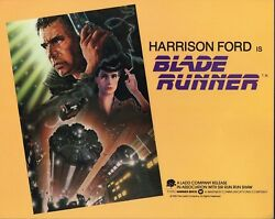 Harrison Ford Blade Runner Original Group Of 5 11x14 Lobby Cards M7604
