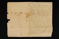 Noblespirit {3970} Fascinating 1820 Letter About A Boat Attempting To Ship Flour