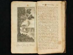 Noblespirit {3970} 1700's Science Book With Mention Of Vehicles Without Horses