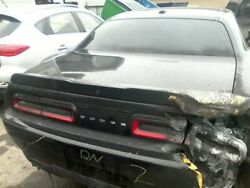 Trunk/hatch/tailgate R/t Scat Pack W/camera Fits 15-16 Challenger 7853226