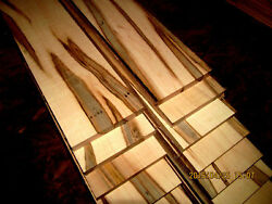 10 STUNNING THIN KILN DRIED SANDED AMBROSIA MAPLE 12quot; X 3quot; X 1 4quot; LUMBER WOOD $34.16