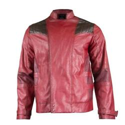Guardians Of The Galaxy Star-lord Leather Jacket Small Brand New Soct17-426