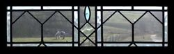 Pretty Arts And Crafts English Antique Stained Glass Window
