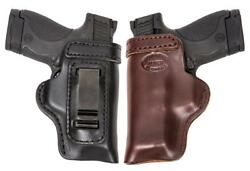 Colt Kimber Sig Conceal Carry Rh Lh Owb Leather Gun Holster For 1911 3inch New