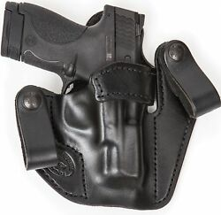 Xtreme Carry Rh Lh Iwb Leather Gun Holster For Ruger Lcp 380 W/ Ct Laserguard