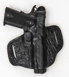 On Duty Conceal Rh Lh Owb Leather Gun Holster For Kahr Cm9