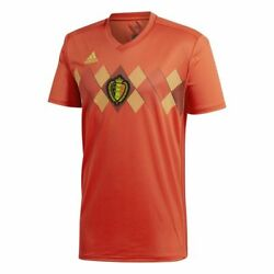 Adidas Belgium Fifa Wc World Cup 2018 Home Soccer Jersey Red / Black / Yellow