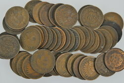 40 - 1909 Indians Indian Head Penny Pennies Good Or Better