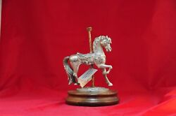 Beautiful Carousel Horse Pewter Masterworks Limited Edition 266 0f 4500