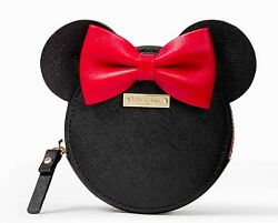 Kate Spade Coin Purse Disney for minnie mouse Leather Rare Ltd Edition NWT $76.00
