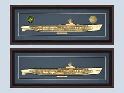 Personalized Tench Ss 417 Class Submarine Cutaway Museum Quality Your Choice