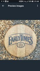 Early Times Bourbon Whiskey Barrel Top