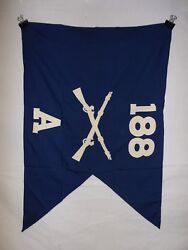 Flag955 Ww2 Us Army Airborne Guide On 188 Parachute Infantry Regiment A Co Ir43b