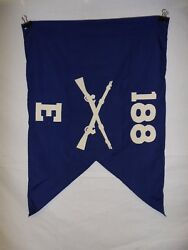 Flag959 Ww2 Us Army Airborne Guide On 188 Parachute Infantry Regiment E Co Ir43b