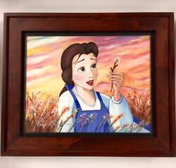 Paige Oand039hara Voice Of Belle Beauty And The Beast Signed Giclee Disney Fine Art Coa
