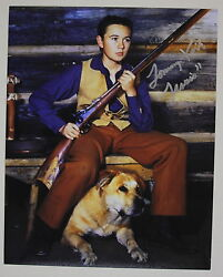 Tommy Kirk Signed Old Yeller 8x10 Photo Inscribed Travis Autograph