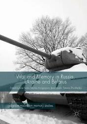 War And Memory In Russia, Ukraine And Belarus English Hardcover Book Free Ship