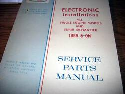 Factory Wiring Book 1969 Cessna All Single Engines And Super Skymaster