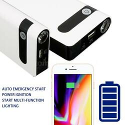 12v auto charger cars emergency lighter power bank battery 1200016000mah Q0C7