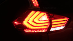Red Tail light LED Strip Back Lamps Lights Fit For Nissan X-Trail 2014-2016
