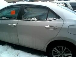 Driver Rear Side Door Sedan Electric Windows Fits 14-17 COROLLA 7894604