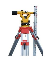 Nwi Nslp500b Siteline Transit Level With Tripod And Rod Package
