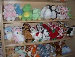 W-f-l Ty Pluffies Selection Stuffed Toy For Baby 9 13/16in Stuffed Animal Toy