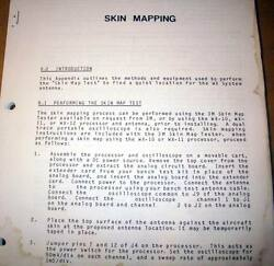 3m Stormscope Skin Mapping And Antenna Locations Instruction Manual