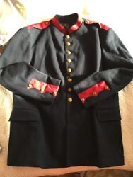 Double Rl Rrl Military Officers Coat Tunic Wool Jacket Dress Mess