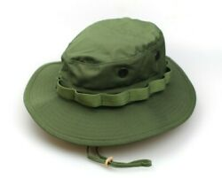 NEW GENUINE US ISSUE BOONIE HAT JUNGLE OD GREEN TYPE II RIPSTOP - USA MADE $16.99