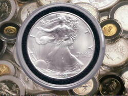 Genuine Air-tite Coin Protectors For All Us 1oz American Silver Eagle Coins `