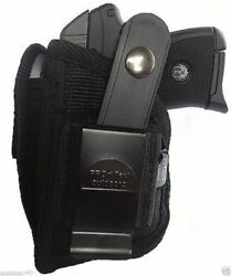 Kel-Tec P-32P-3AT With Laser Gun holster With Magazine pouch