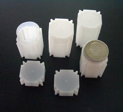 New Coinsafe Square Tubes Fit Liberty - Trade - Morgan - Peace Silver Dollars