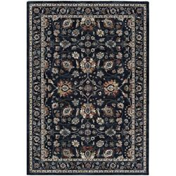 Couristan Monarch Kerman Vase Area Rug Navy 5and0393 X 7and0396 - Je453434053076t